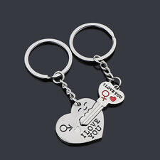 Valentines Day gift Love For Him Her keyring keychain love couple gift present