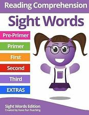 Sight Words Reading Comprehension Workbook by Have Fun Have Fun Teaching...