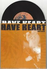 """Have Heart """"What Counts"""" 7"""" /275 OOP American Nightmare Bane Converge Rival Mob"""