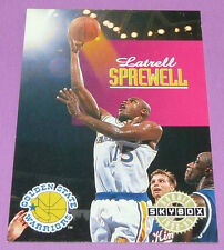 LATRELL SPREWELL G.S. WARRIORS SKYBOX ROOKIE 1992-1993 NBA BASKETBALL CARD