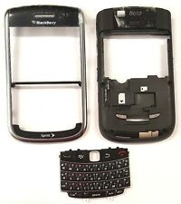 Blackberry Tour 9650 Sprint Middle And Front Housing Key Pad Black