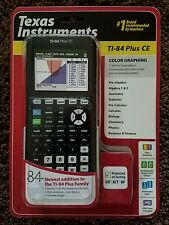 Texas Instruments TI-84 Plus CE graphing calculator NEW