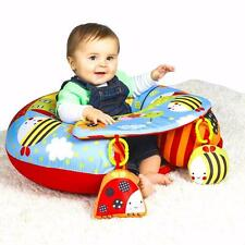 Garden Gang Baby Inflatable Ring Seat With Play Tray & Activities Child Playnest