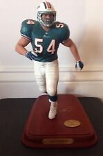 Zach Thomas Miami Dolphins REPAIRED Figurine Statue, NFL