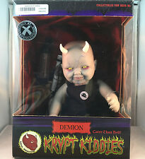 Krypt Kiddies Demion with Birth Death Certificate Bottle Halloween Doll Prop MIB