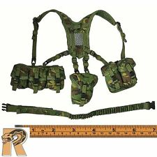 Royal Marines Commando - Belt set w/ Pouches - 1/6 Scale - Damtoys Action Figure