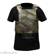 OPS / UR-TACTICAL ADVANCED MODULAR PLATE CARRIER IN A-TACS AU  LASER CUT MOLLE