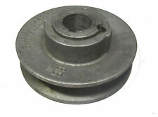 "RDGTOOLS 100MM 4"" picador adjustable pulley 5/8 bore 4MM keyway"