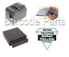 Quickbooks POS 12.0 Citizen Hardware POS Bundle 1 Printer, Scanner & Cash Drawer