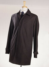 NWT $2495 ERMENEGILDO ZEGNA 'Elements' Reversible Trofeo Cashmere Coat XL (Eu56)