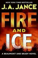 Fire and Ice by J. A. Jance (2009, Hardcover) Book Novel Fiction Literature