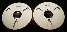 2x AKAI Nab Original Alu Spulen 26,5cm Leerspule 10,5'' Metal Reel