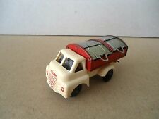 Wells Brimtoy Plastic/Tin Refuse Truck.Working With All Four Lids.Vintage Model