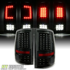 [Update Design] Blk 2009-2017 Dodge Ram 1500 2500 3500 LED Tail Lights Lamps Set