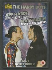 THE HARDY BOYS - Pro Wrestling Ultimate Insiders - UK DVD (2-DISC SET) 265m VGC