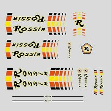 Rossin Bicycle Frame Stickers - Decals - Transfers - n.2