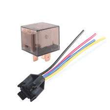 Car Truck Auto 12V 80A 80 AMP SPDT Relay Relays 5 Pin 5P & Socket 5 Wire Sales