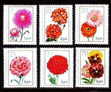 DDR East Germany 1975 ** Mi.2070/75 Blumen Flowers Pflanzen Plants Flora