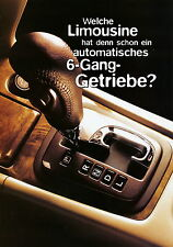 Prospekt Nissan Primera 6-Gang 1999 Autoprospekt Auto Pkw Japan Asien brochure