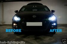 VW Scirocco Xenon WHITE LED Sidelight Parking Light Bulbs - Error Free Canbus