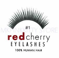 Red Cherry Lashes #01 False Eyelashes [LOT OF 3] *NEW*