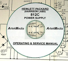 Harrison Labs ( HP) 812C Power Supply Ops-Service Manual