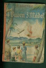 4 Buben 3 Mädel Deutsche Kinder im brasilianischen Urwald von Kurt Böttner 1936