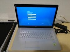 "HP 3D Envy Laptop Touch-Screen 17t 17 17.3"" i7 16GB 512GB 940MX Pro Crack LCD"