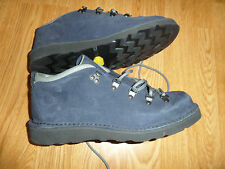 DANNER BLUE SUEDE LEATHER LOW MOUNTAIN BOOTS MEN'S 10 M