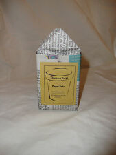 Recycled Newspaper Plant Pots - 10 count