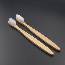 4PCS/lot Dr.Perfect Bamboo Toothbrush Oral Care For Adult White Bristles