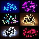40 LED Berry Cherry Christmas Wedding Garden Party String Tree Window Lights 5M