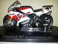 Ixo 1:24 moto yamaha R7 noriyuki haga 2000 nitro nori-rare