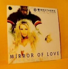 cardsleeve single CD 2 BROTHERS ON THE 4TH FLOOR Mirror Of Love 2TR 1996 eurodan