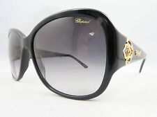 Chopard SCH 131S 0700 Black/Gold/Crystals New Authentic Eyeglasses 57/16/140mm