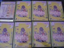 CURSO DE INGLES PARA NIÑOS 8 DVD +CD-ROM  DICCIONARIO 6 IDIOMAS CD-ROM  (NUEVOS)