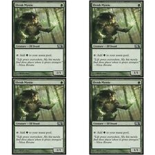 4 x ELVISH MYSTIC NM mtg M14 Green - Elf Druid Com