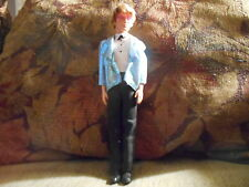 Mattel Ken w Blond Rooted Hair in Suit/Jacket/shoes/glasses