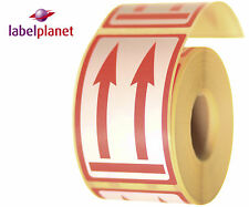 Up Arrows Package/Packaging Postage Self-Adhesive Roll Mail Labels Label Planet®