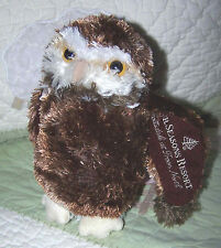 Douglas Four Seasons Scottsdale at Troon North Stuffed Plush Fluffy Owl Toy EUC