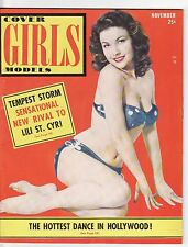 Vintage Cover Girls Models Magazine November 1953 VF+ 8.5 UNREAD See my store
