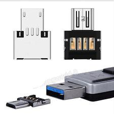 Micro USB Typ B mini OTG Adapter Stecker auf USB Buchse Typ A 2.0 Host Stick