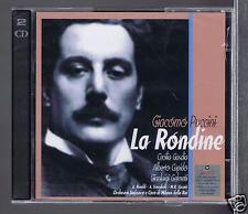 PUCCINI 2 CDS SET NEW LA RONDINE / GIANLUIGI GELMETTI/ CECILIA GASDIA