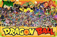 Dragon Ball Z - Goku Fighting Hot Japan Anime Art Silk Poster 24x36inch