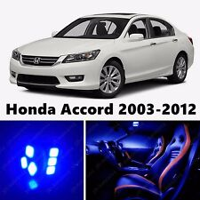 17pcs LED Blue Light Interior Package Kit for Honda Accord 2003-2012
