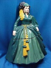 Gone With The Wind Scarlett Happy Memories Cookie Jar ~ FREE Shipping!!~