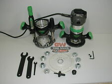 Hitachi Plunge Router Kit (Recon) 2 1/4 HP Variable Speed Fixed Base