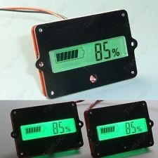 Indicator Battery capacity Tester for 12V 24V 36V 48V Lead-acid Lithium Cell car