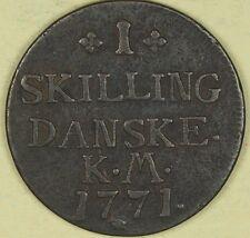 1771 Denmark 1 Skilling #3