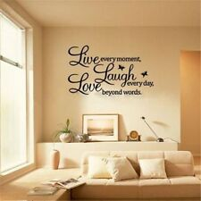 Dance Live Quote Wall Vinyl Decals Sticker DIY Decor Livingroom Removable Mural